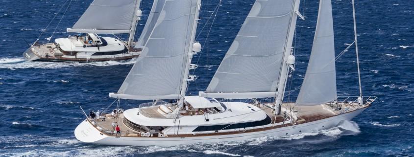 ROSEHEARTY Length: 56 m Type: ketch CLAN VIII Length: 45 m Type: sloop